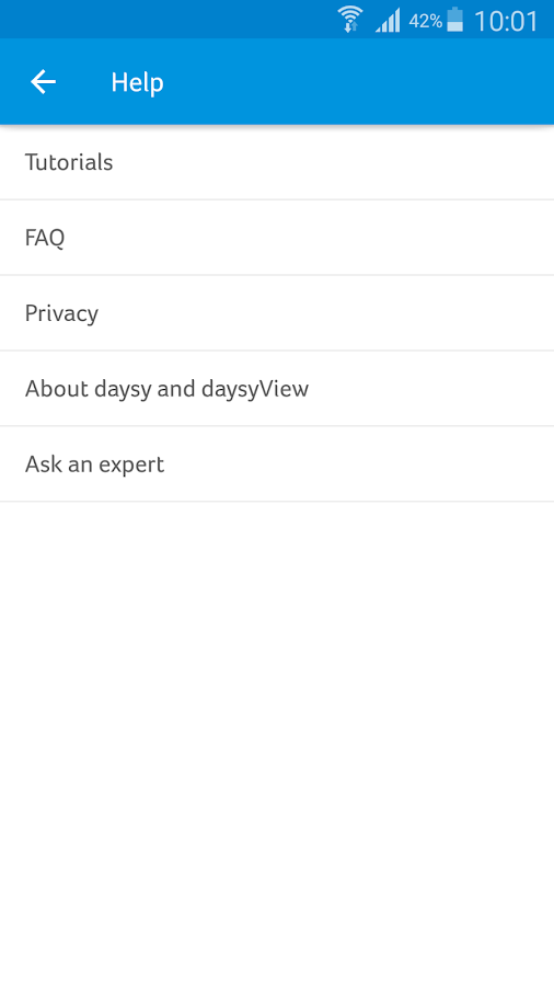 DaysyView- screenshot