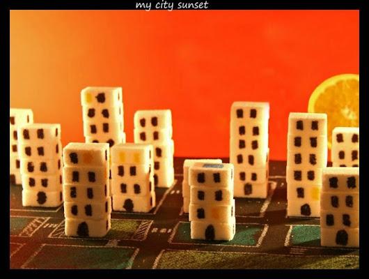 my city sunset di daniele.semenzato