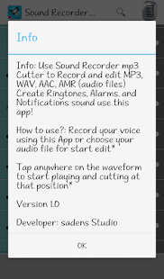 Sound Recorder mp3 Cutter screenshot 7