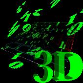3D Matrix Live Wallpaper