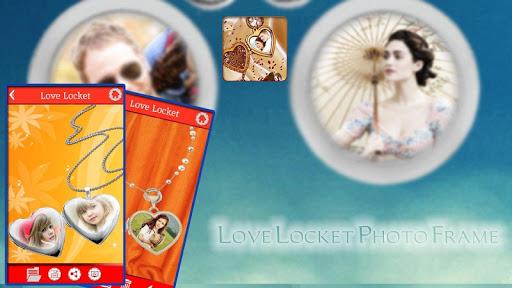 Love Locket Photo Frame