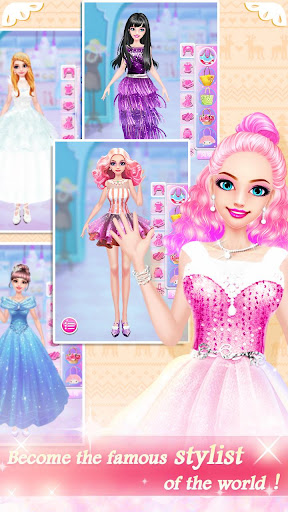 Fashion Shop - Girl Dress Up apkpoly screenshots 5