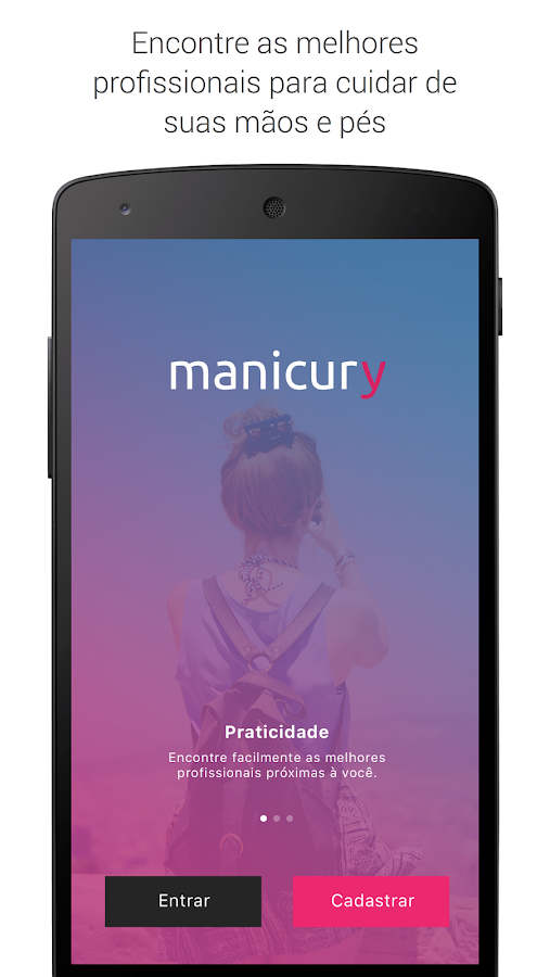 Manicury: encontre manicures- screenshot