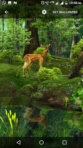 3D Nature Live Wallpaper 1.2 screenshots 2