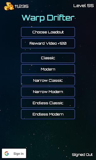 Warp Drifter: Space Flow apkdebit screenshots 4