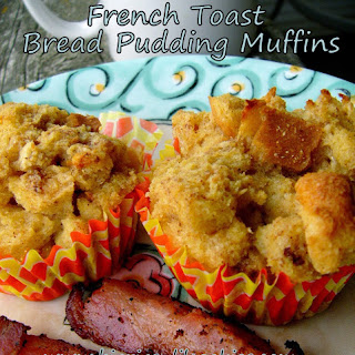 French Toast Bread Pudding Muffins