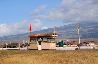 Photo: spectators' gate