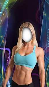 Fitness Girl Photo Suit Editor screenshot 0