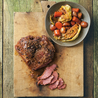 Beer-Braised Corned Beef with Vegetables Recipe