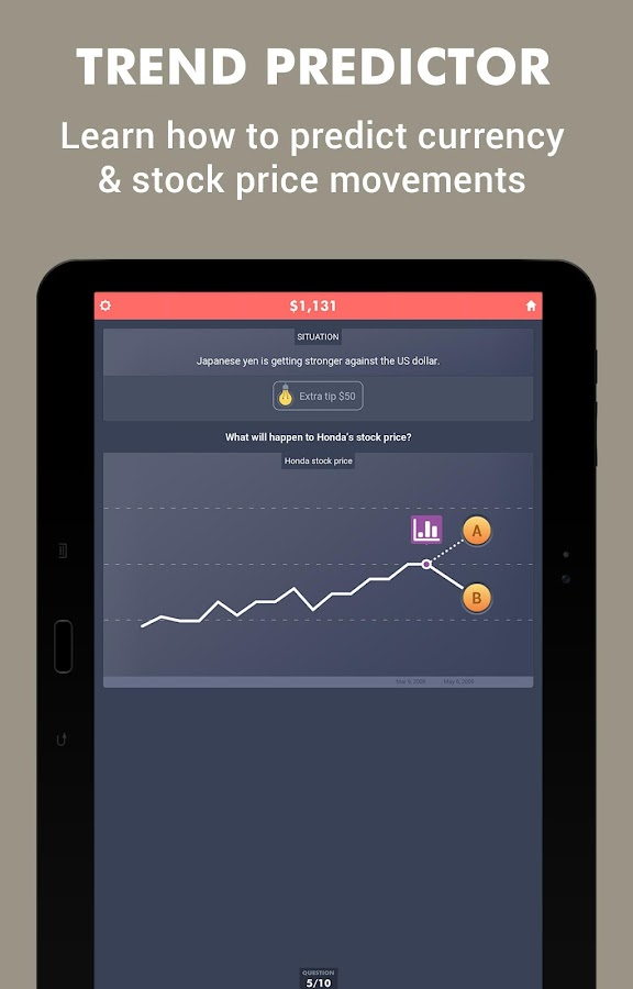 Forex Hero - Trading Game- screenshot
