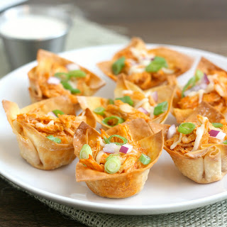 Wonton Wrapper Appetizers Chicken Recipes