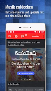 RauteMusik.FM Internet Radio- screenshot thumbnail