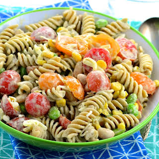Summery Pasta Salad.