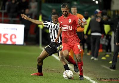 L'arrière gauche de Charleroi Nurio Fortuna sait ce qu'il doit améliorer