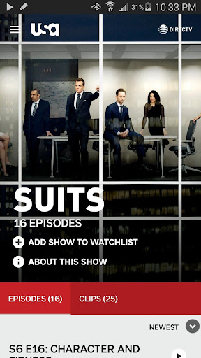 USA Network  screenshots 7