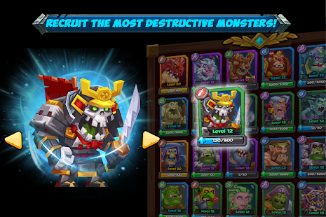 Tactical Monsters Rumble Arena - náhled