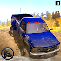 Offroad PickUp Truck: UpHill Cargo Simulator icon