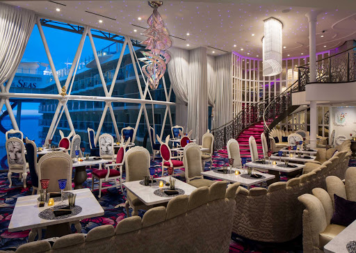 A look at Wonderland, the whimsical restaurant serving imaginative cuisine on Symphony of the Seas.