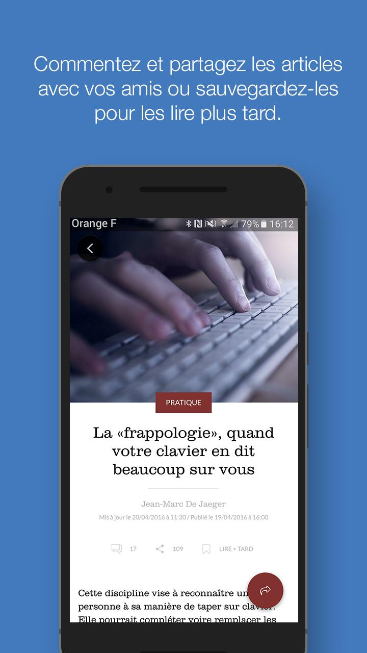 Le Figaro.fr: Actu en direct Screenshot 2