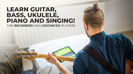 Yousician -  Learn Guitar, Piano, Bass & Ukulele APK screenshot thumbnail 1