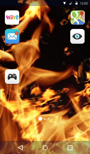 Burning Live Wallpaper 1.4 screenshots 2