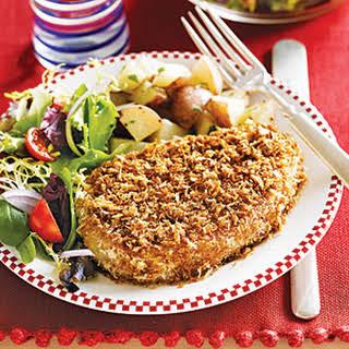 Oven-Fried Pork Chops.