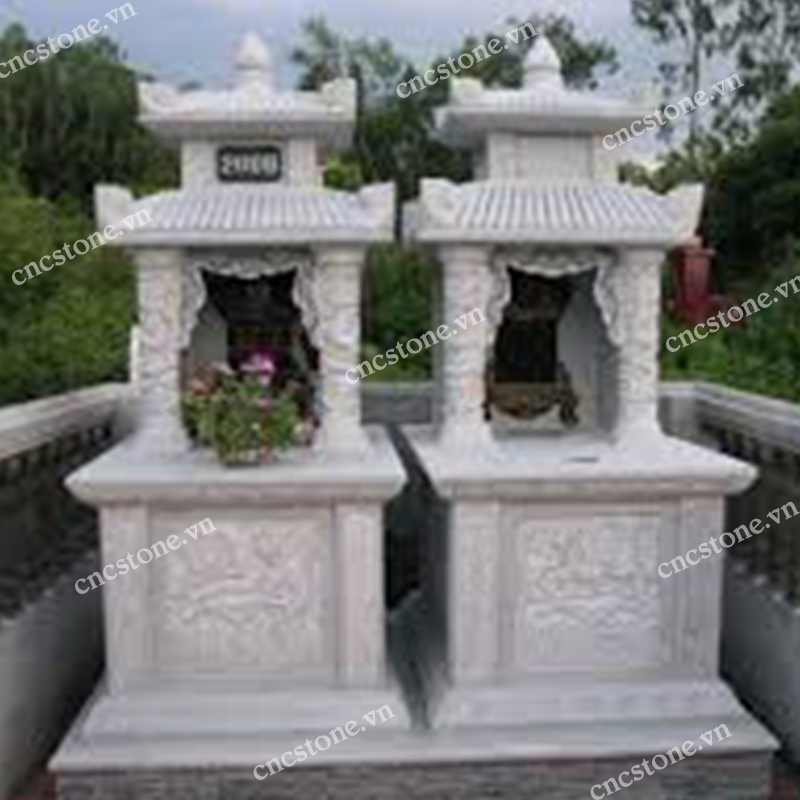 mộ xây đẹp