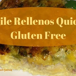 Chile Rellenos Quiche Gluten Free