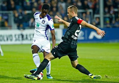 Siebe Blondelle estime qu'Eupen aurait pu gagner contre Anderlecht