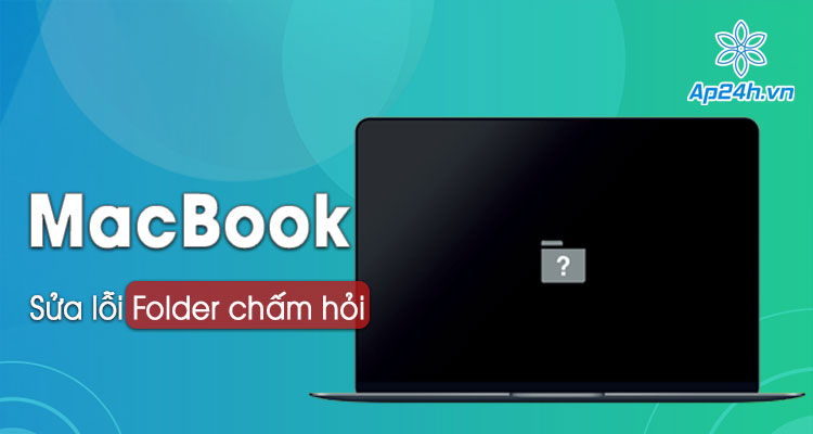 Sua MacBook bi loi folder cham hoi