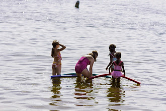 Photo: Water fun at Lake Carmi State Park by Heather Sefcik