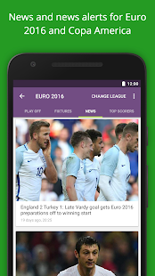 FotMob - Euro 2016 Scores Screenshot 2