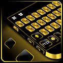 Gold Metal Business Keyboard Theme icon