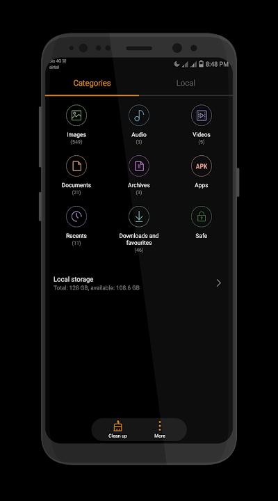 Samsung S9 Dark EMUI 5 THEME APK Download - Apkindo co id