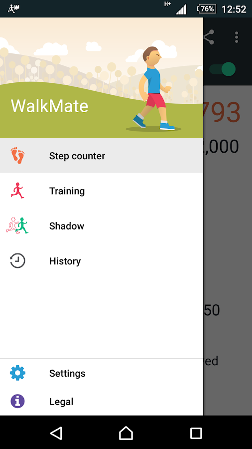 Walkmate- screenshot