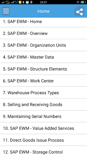 Learn SAP EWM 1.1 screenshots 1