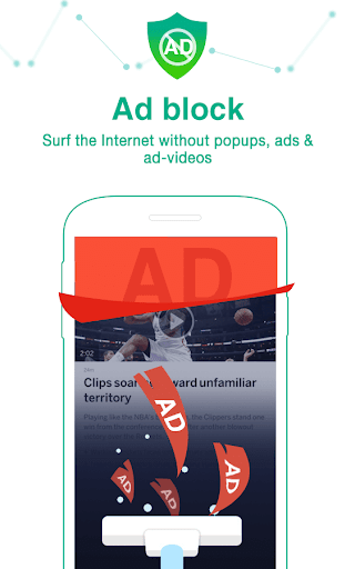 Dolphin Web Browser - Adblock, Safe & Private🐬 Screenshot