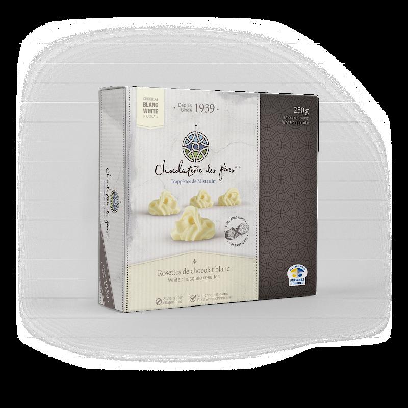 Chocolat Rosettes de chocolat blanc