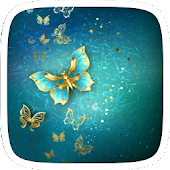 Butterfly Gold Theme