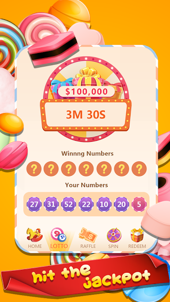 Candy Money - Feel Sweet & Win Big Prize Android App Screenshot