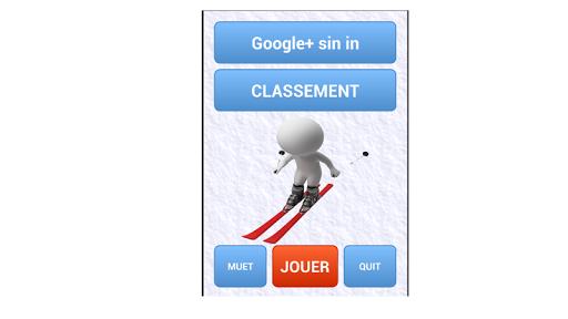 ski protagonist