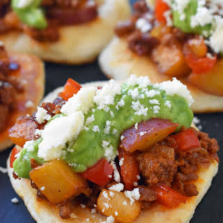 Chorizo Potato Puffy Tacos and Pillsbury Bake-Off.