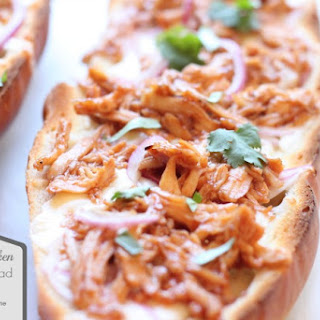BBQ Chicken French Bread Pizza.