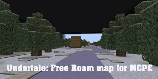 Undertale: Free Roam Map for MCPE for PC