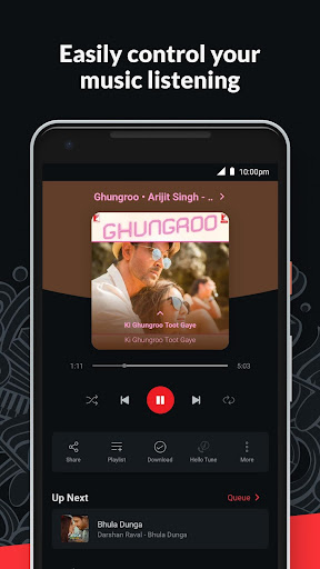 Wynk Music- New MP3 Hindi Songs Download HelloTune 3.9.1.0 screenshots 4