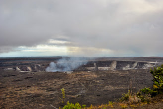 Photo: cratere Halema'uma'u