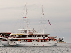 Photo: Our small ship, The Magellan. This was our home for the next week.