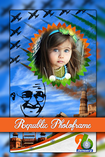 Republic Day Photo Frame 2018 -26 Jan Photo Editor - náhled
