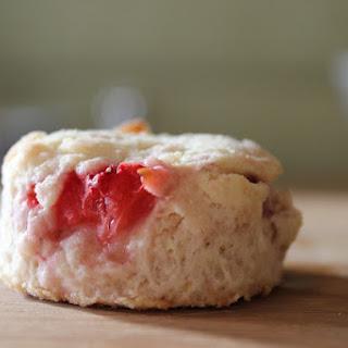 Strawberries and Cream Scones.