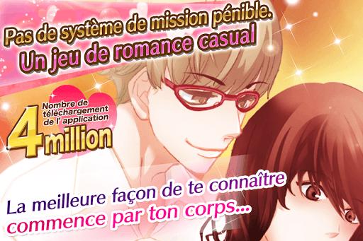 Code Triche Caresses dangereuses: jeux d'amour Otome games APK MOD (Astuce) screenshots 1